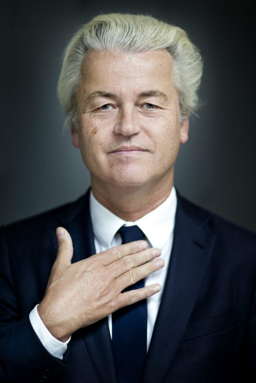 Portret Geert Wilders (PVV)