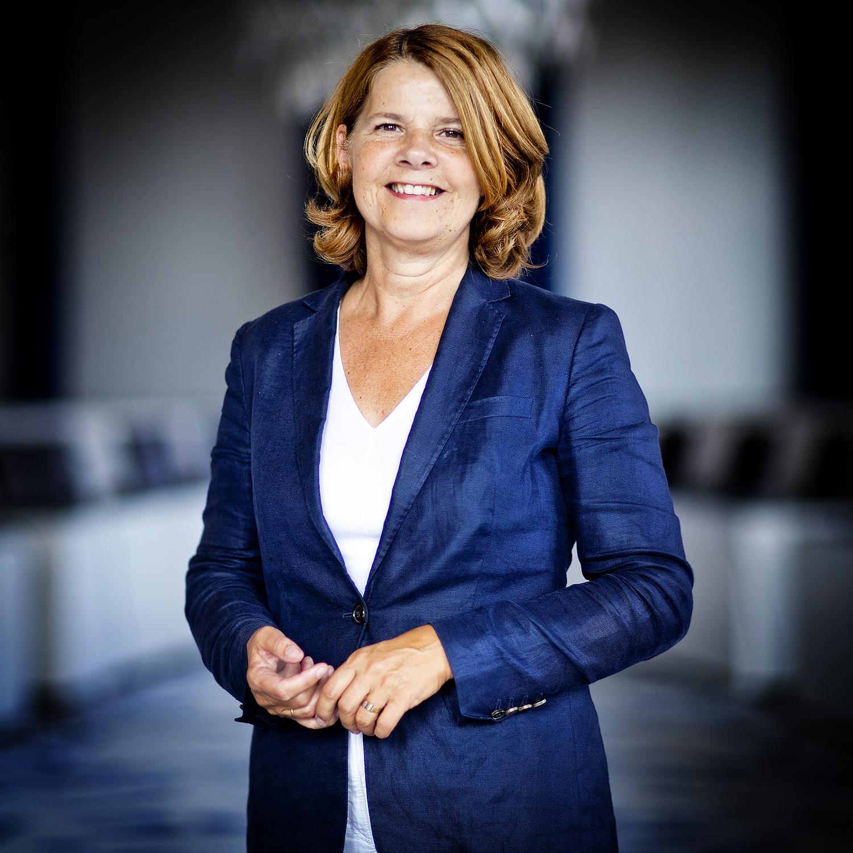 Portret Delftse burgemeester Marja van Bijsterveldt (CDA)