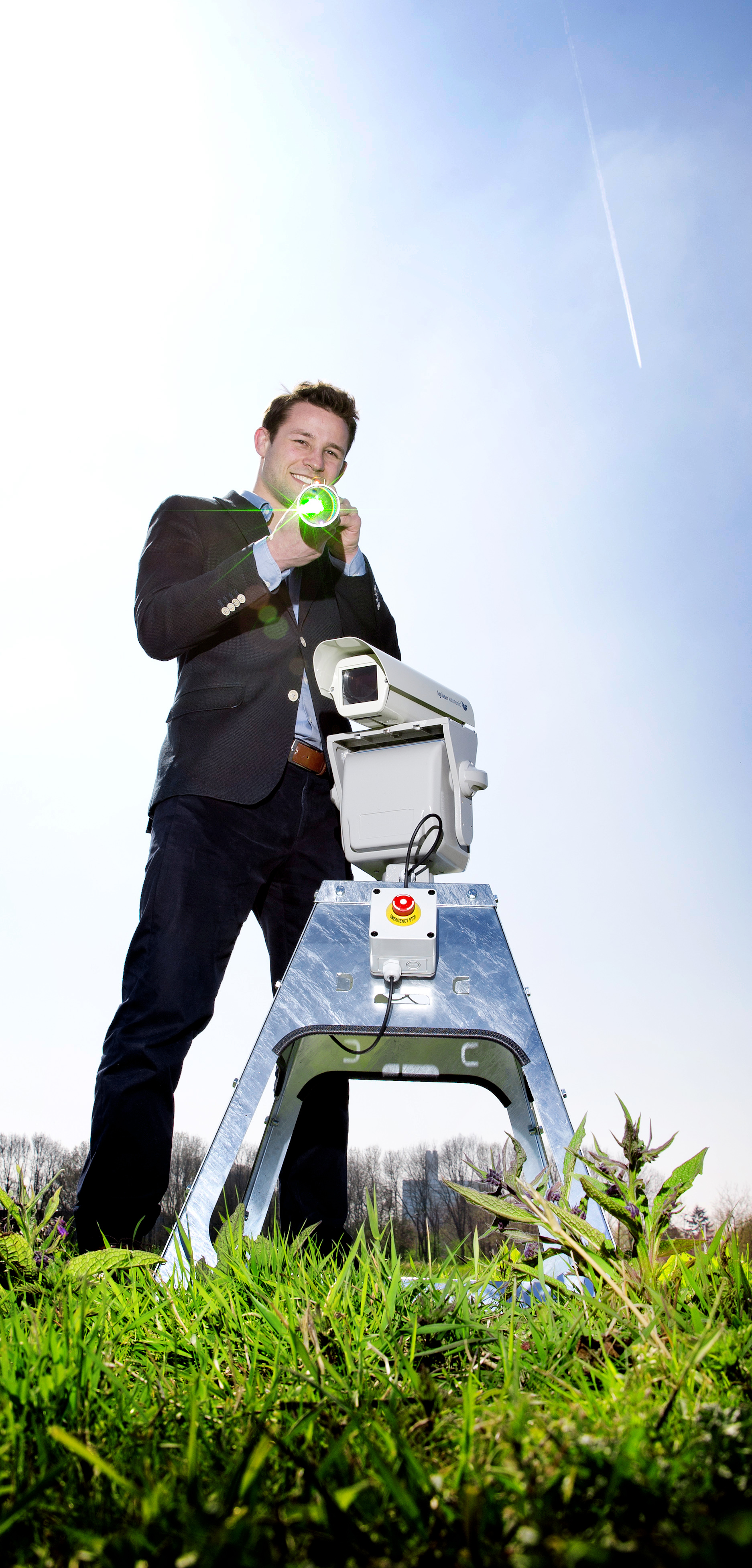 Steinar Henskes, oprichter van Bird Control Group