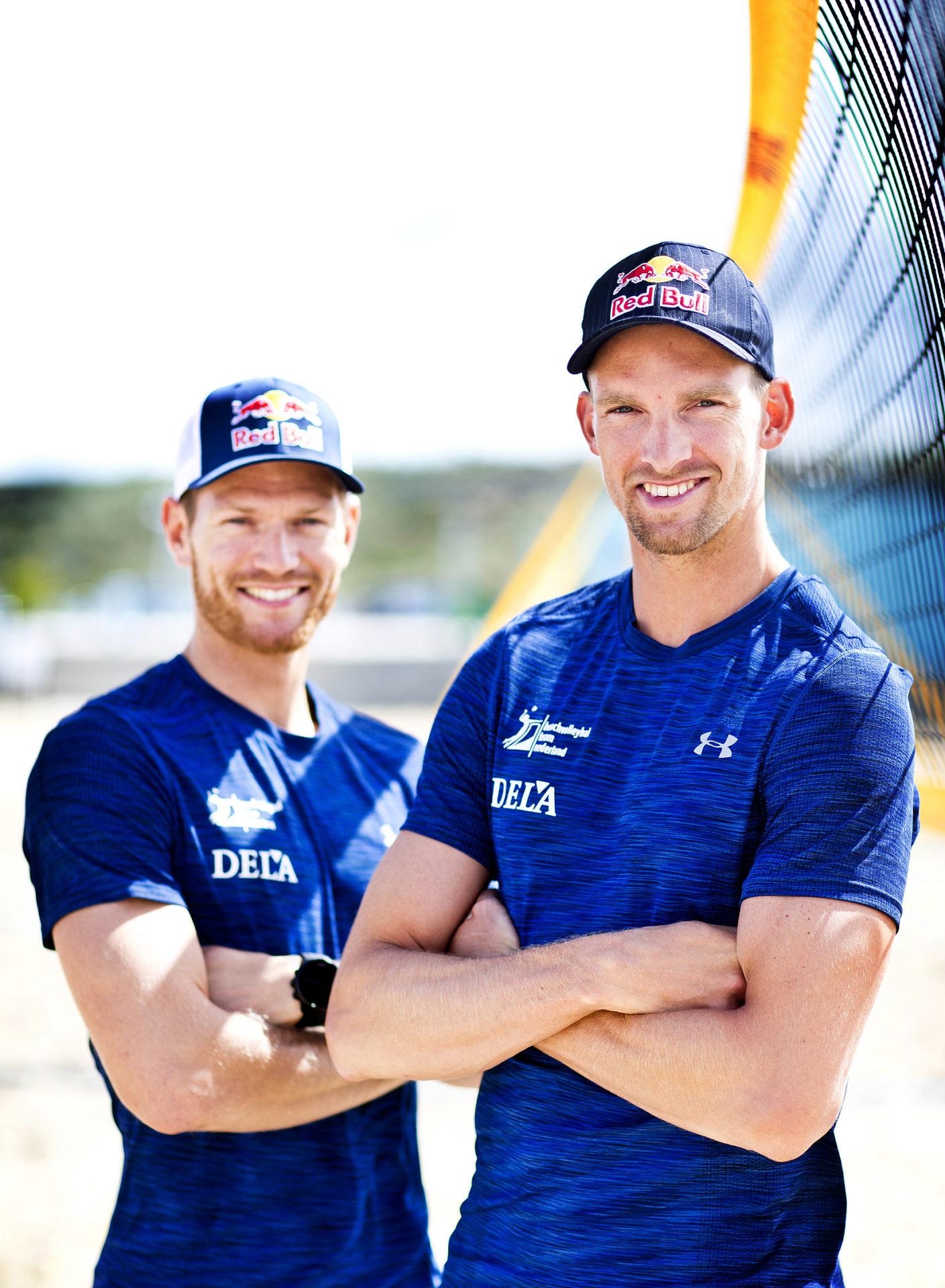 Beachvolleyballers Alexander Brouwer en Robert Meeuwsen