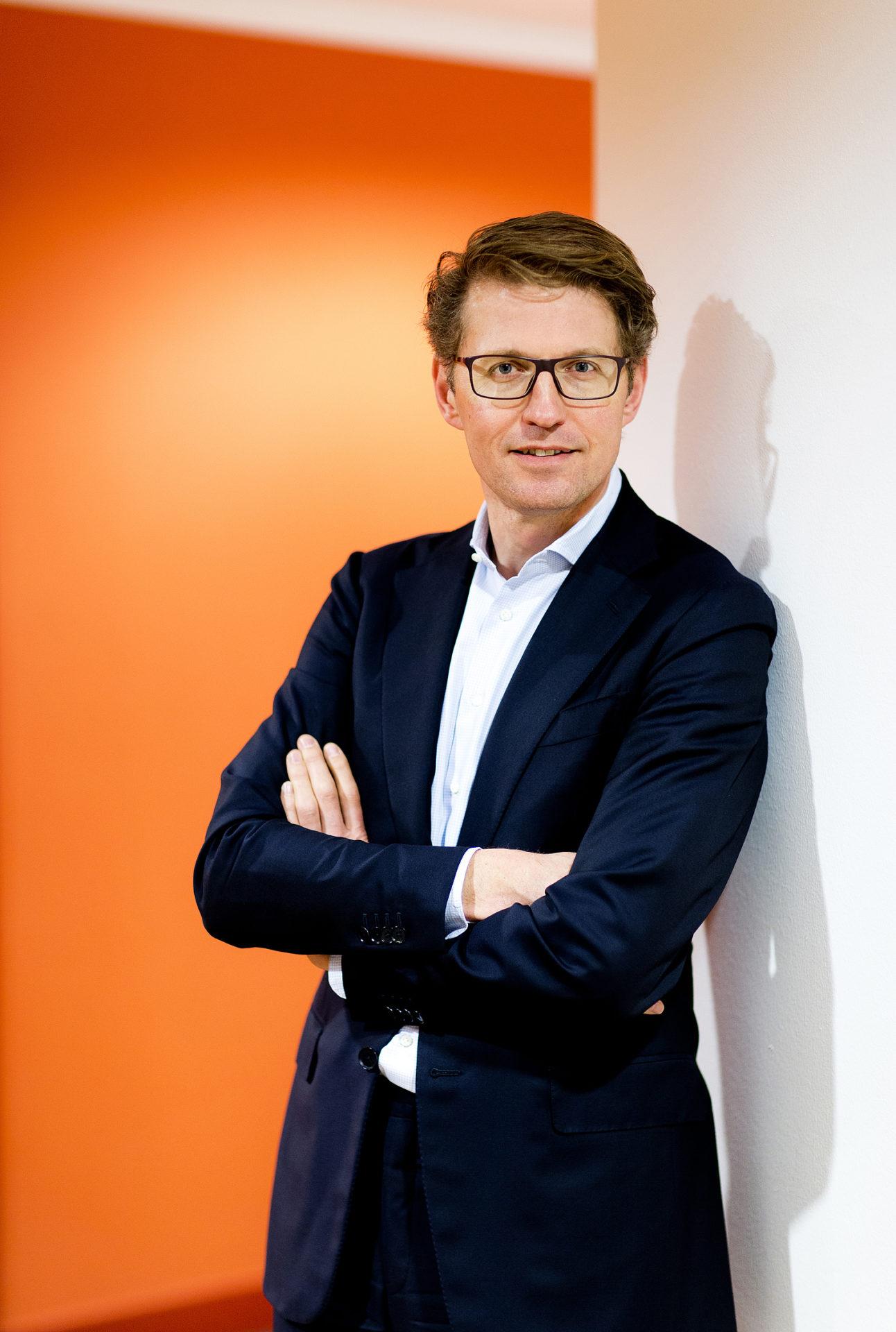 Portretten Minister Sander Dekker