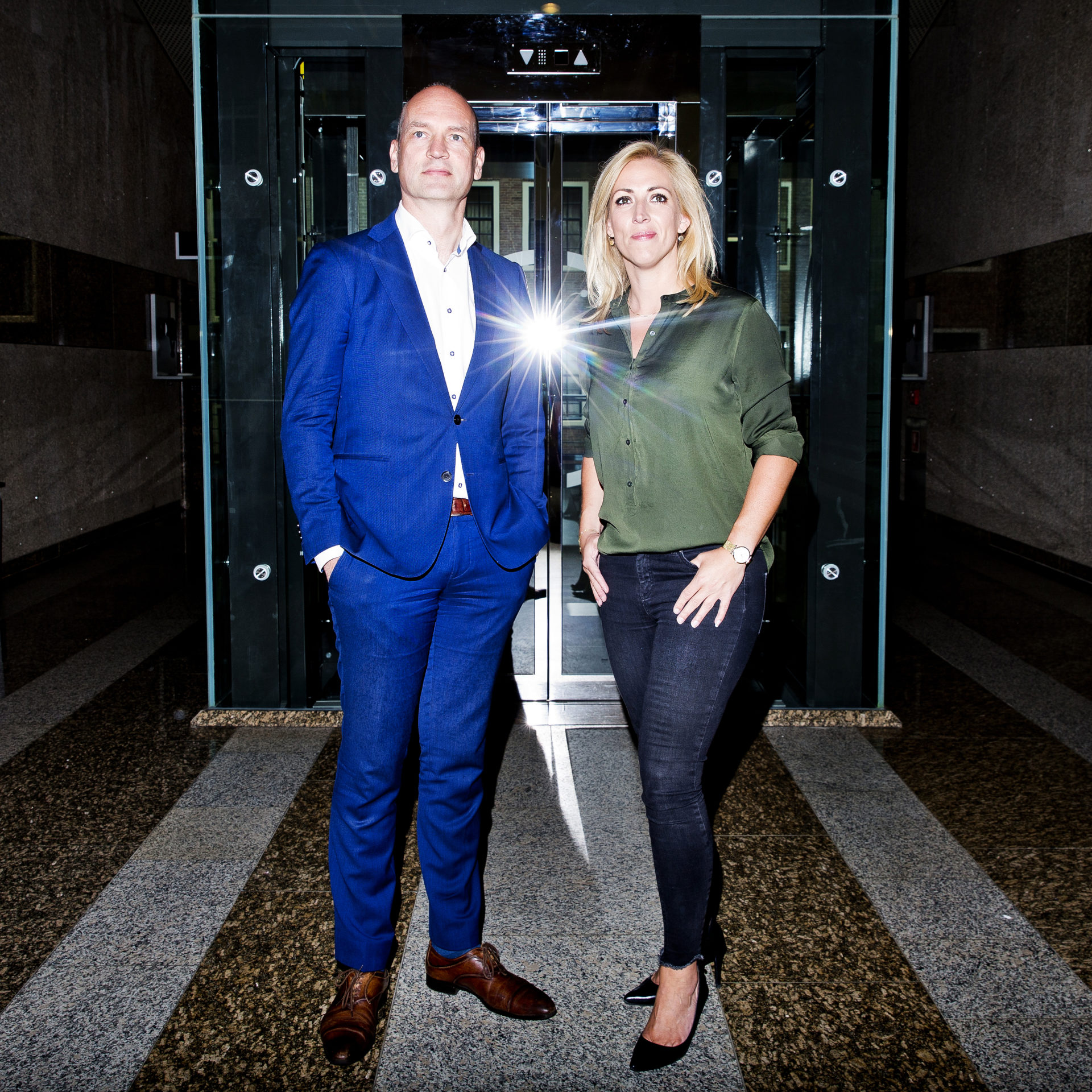 Lilian Marijnissen en Gert-Jan Segers