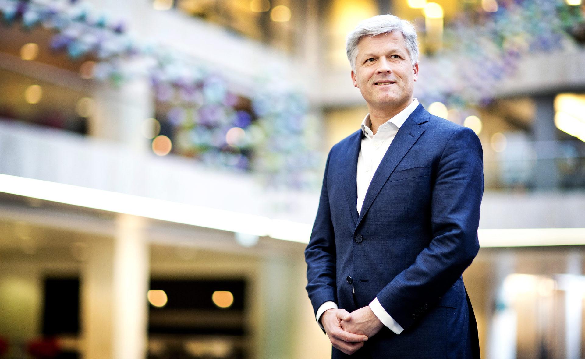 Aegon CEO Maarten Edixhoven