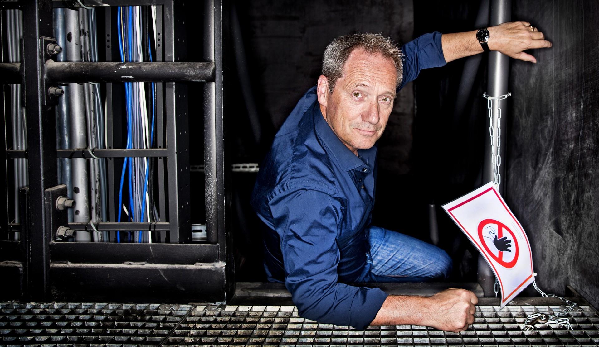 Portret Acteur Gijs Scholten van Aschat.