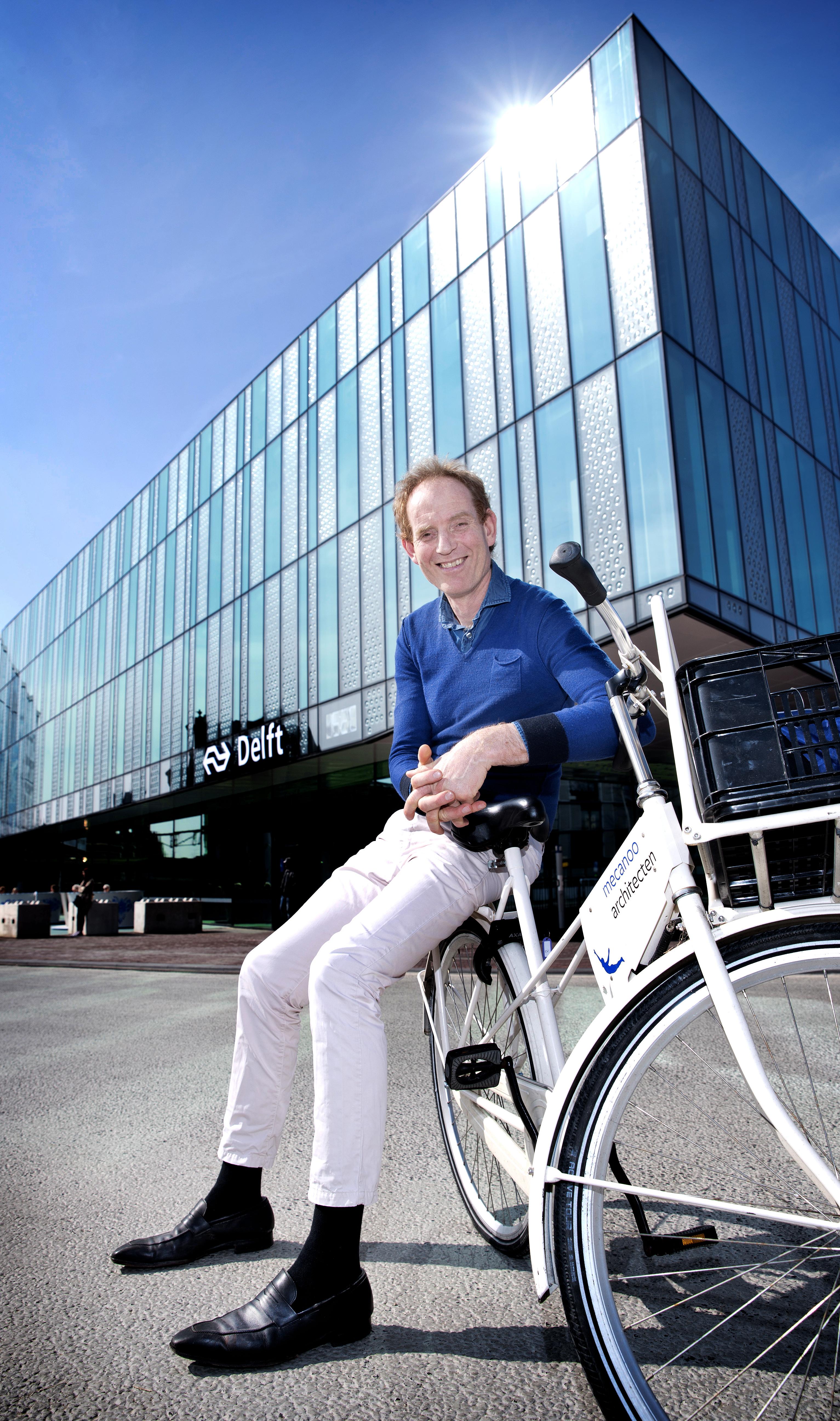 Peter Haasbroek van Mecanoo Architecten