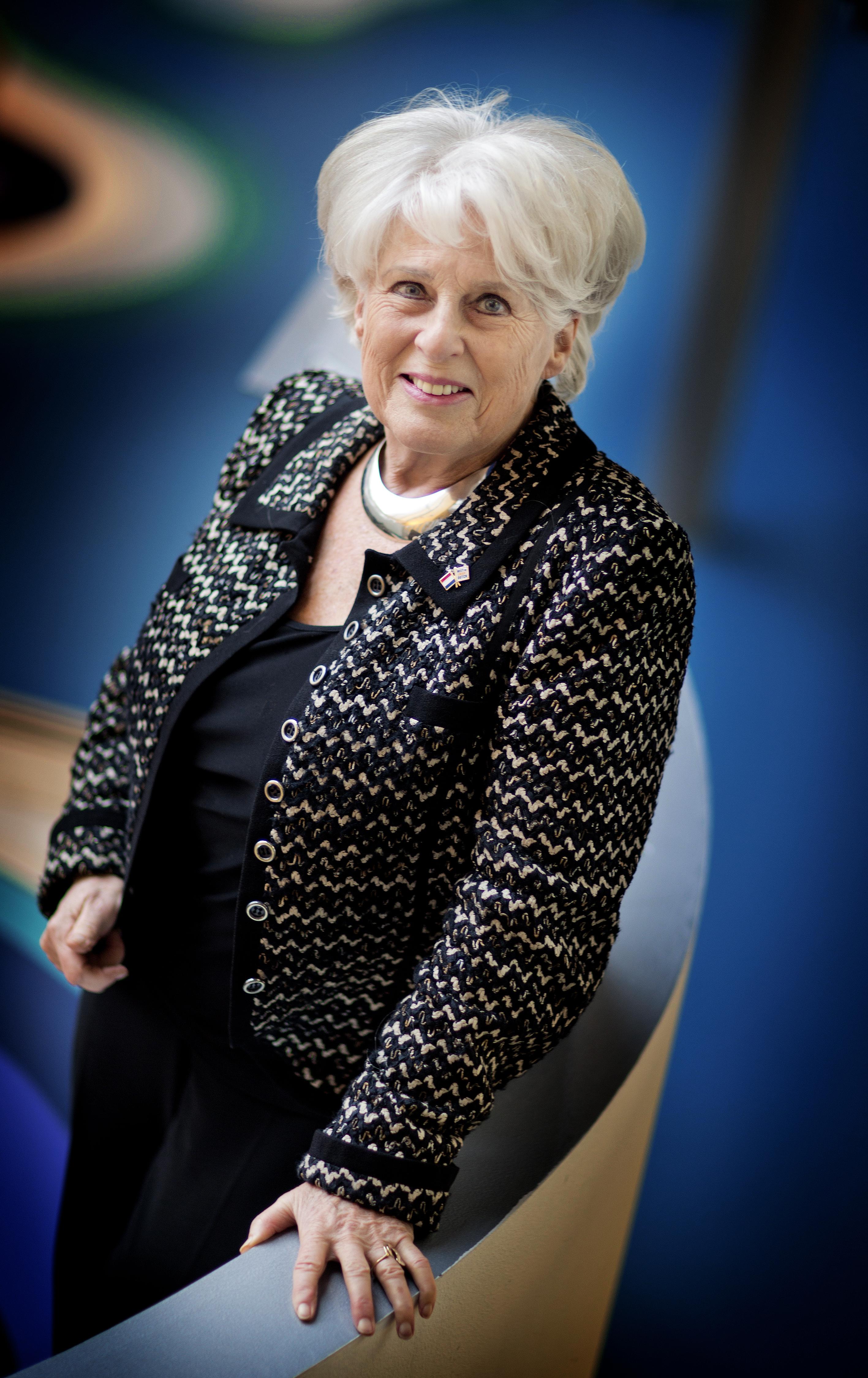 DEN HAAG - Voorzitter van de Raad van Toezicht Deltares Karla Peijs. - FOTO GUUS SCHOONEWILLE