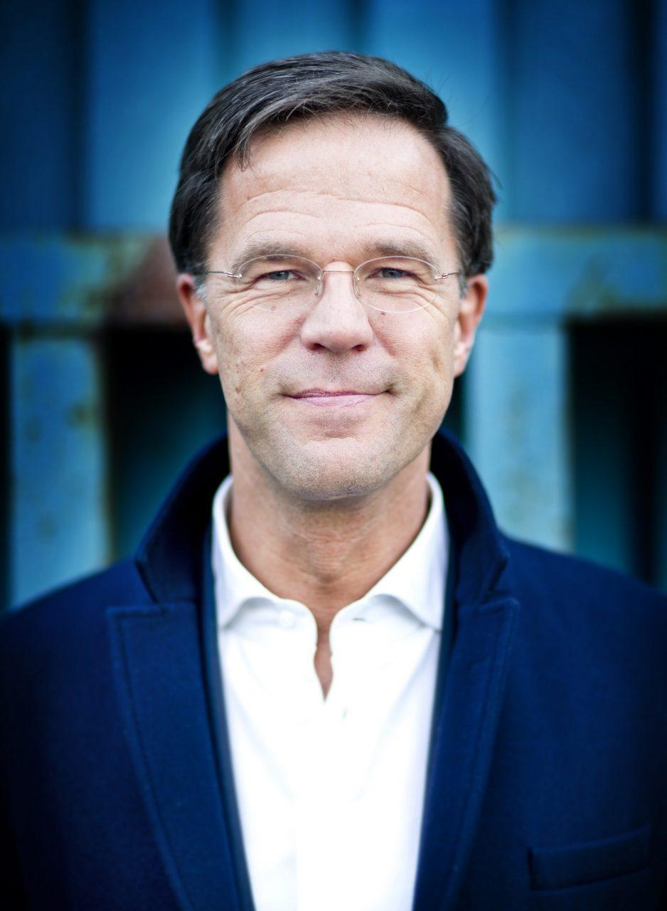 Portretten Minister President Mark Rutte (VVD)