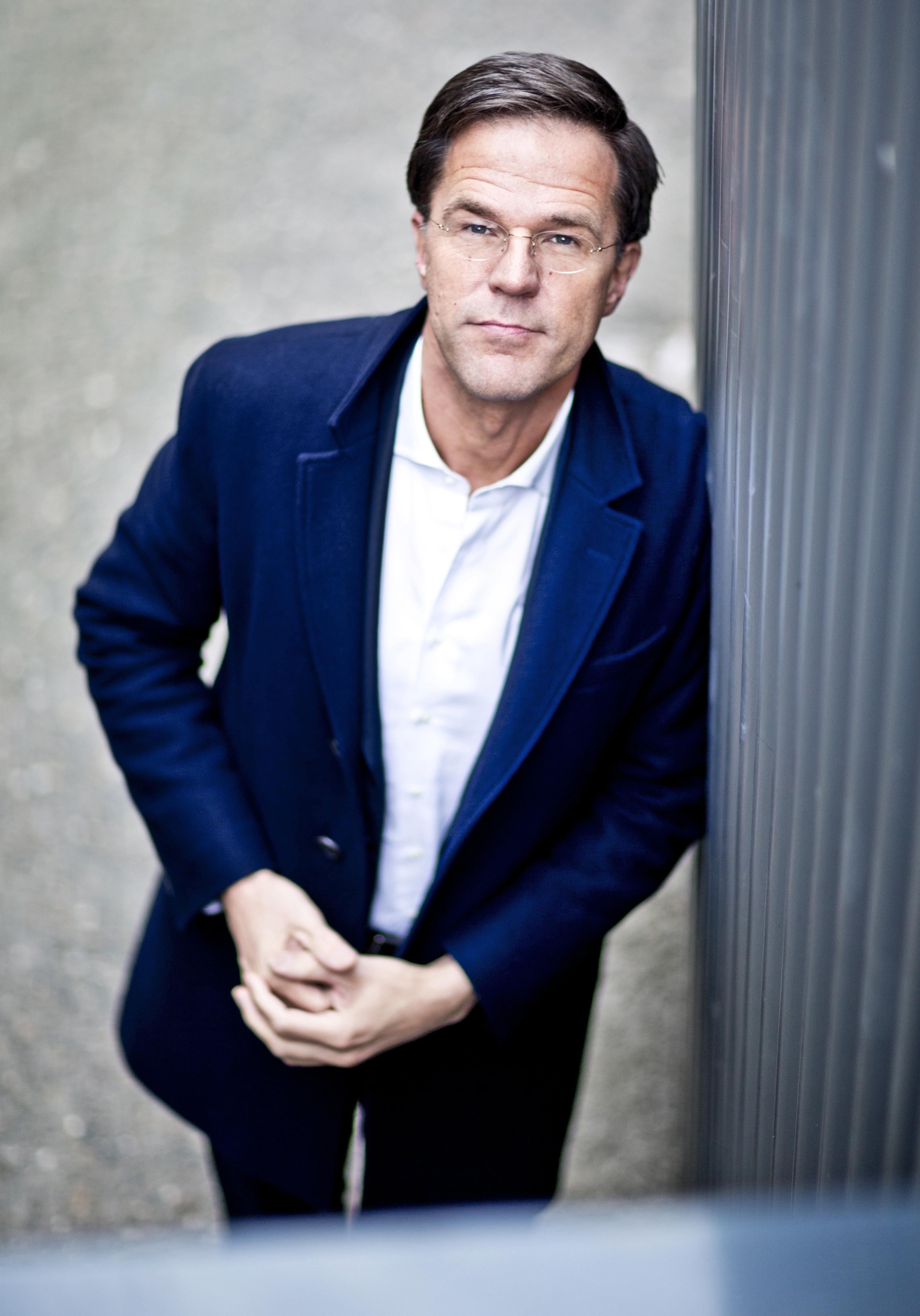 DEN HAAG - Portretten Minister President Mark Rutte (VVD). - ANP COPYRIGHT GUUS SCHOONEWILLE