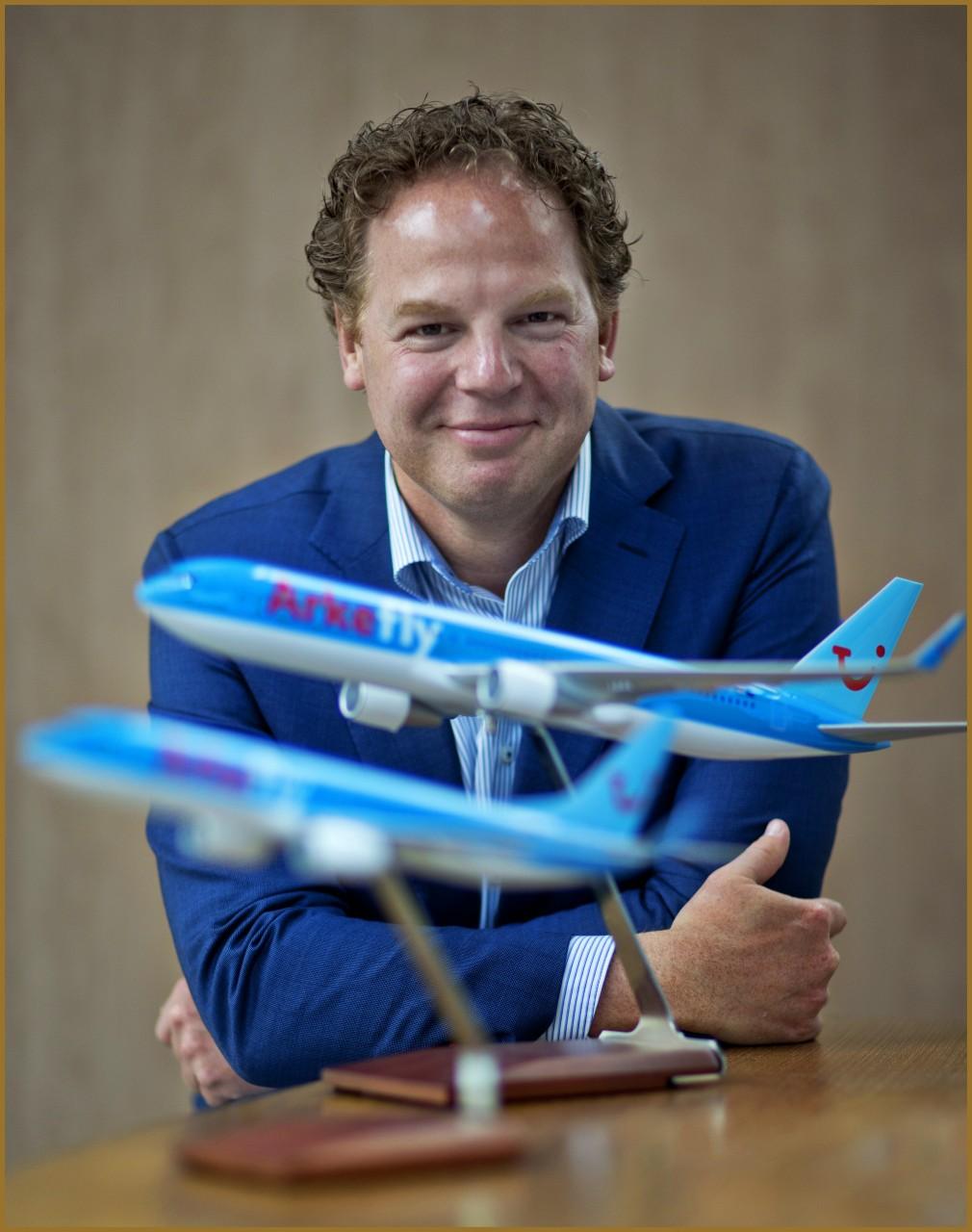 TUI directeur Steven van Nieuwenhuijzen