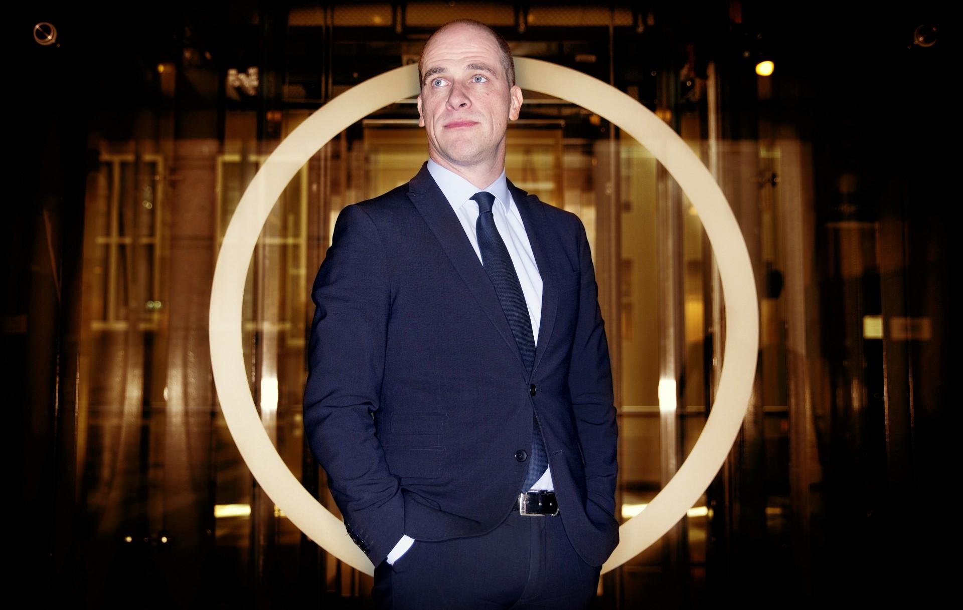 Portret PvdA fractieleider Diederik Samsom