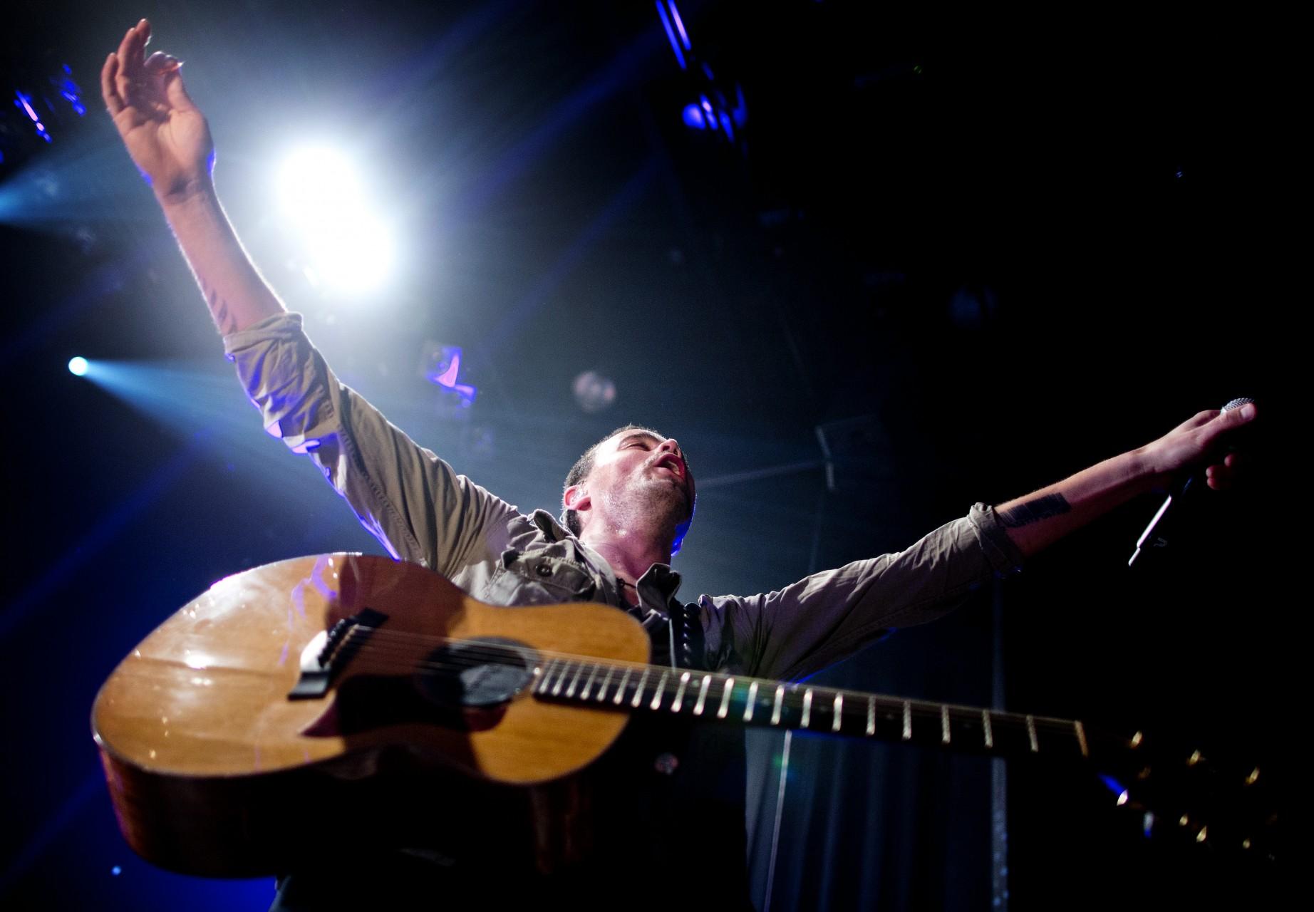 Ronde van Rockband Kane opent poppopium Bibelot in Dordrecht. bij Ekko Utrecht